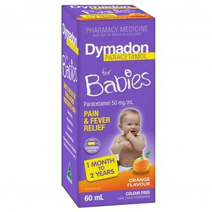Dymadon Baby 1 Month-2 Year 60ML Strawberry | Chemistworks | Pharmacy Open Now