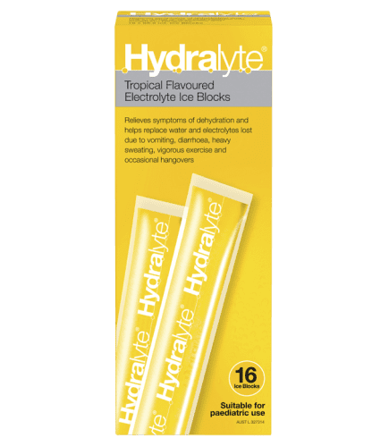 Hydralyte Tropical 16 Ice Blocks