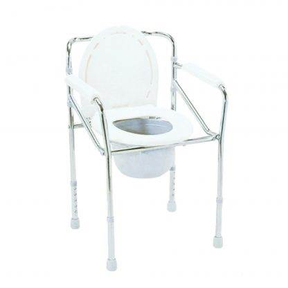 BBS Steel Commode Chair
