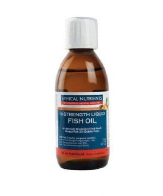 ETHICAL NUTRIENTS HI STRENGTH FISH OIL MINT 170ML