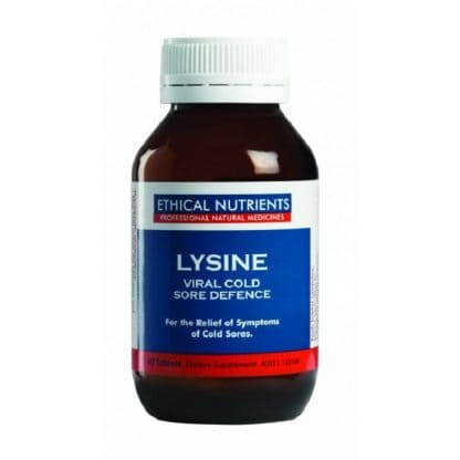 ETHICAL NUTRIENTS LYSINE VIRAL DEFENCE 60 TABLETS