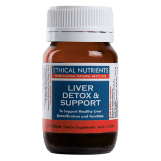 Ethical Nutrients Liver Detox Support 30 Tablets