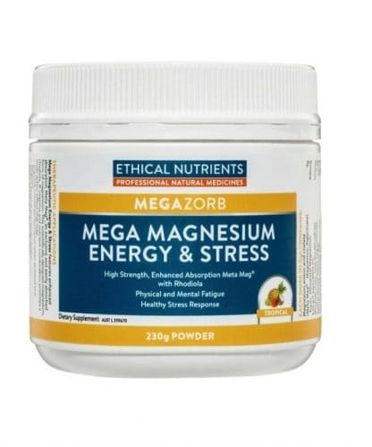 Ethical Nutrients Mega Magnesium Energy & Stress 230g