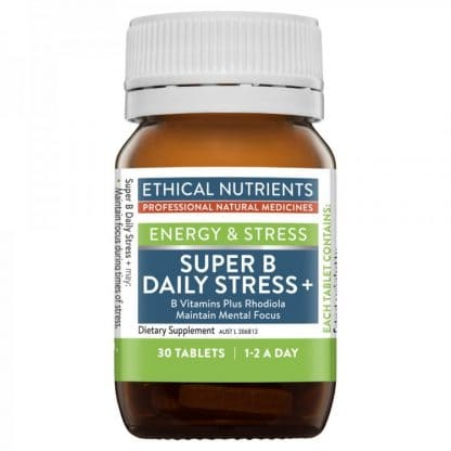 Ethical Nutrients Super B Daily Stress 30 Tablets