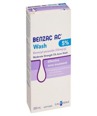 Benzac Ac Wash 5% 200ML