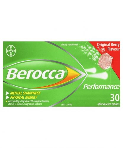 Berocca Perform Original Effervescent Tablets 30 Pack