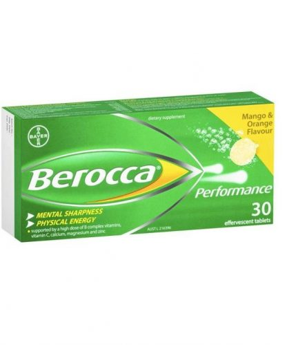 Berocca Performance Mango And Orange Tablet 30 Pack