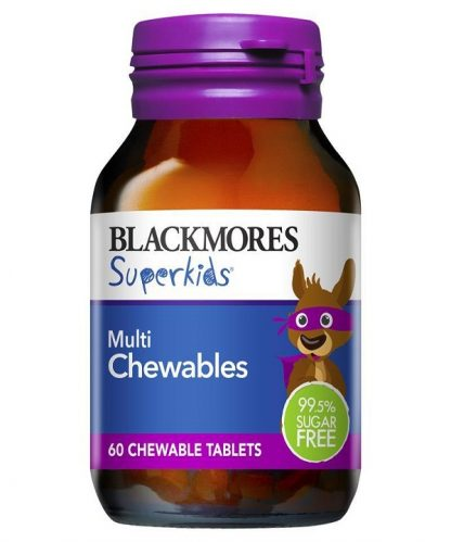Blackmores Superkids Multi Chewable 60 Tablets