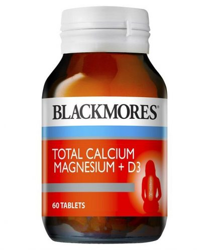 Blackmores Total Calcium + Magnesium + D3 60 Tablets