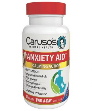 Carusos Anxiety Aid 30 Tabs