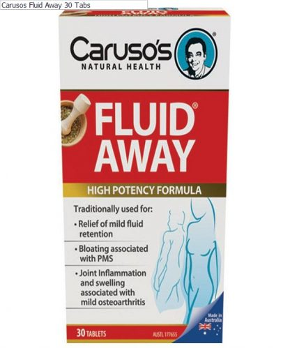 Carusos Fluid Away 30 Tabs