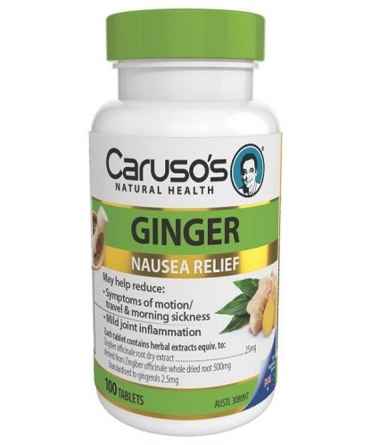 Carusos Ginger 100 Tabs