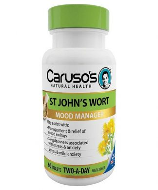 Carusos Herb St Johns Wort 60Tabs