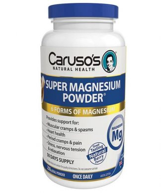 Carusos Super Magnesium Powder 250g