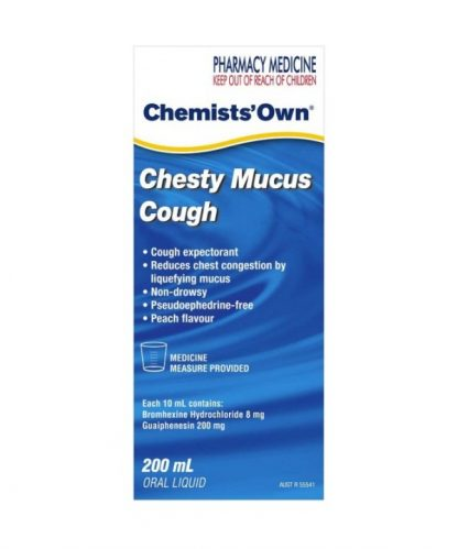 Chemist Own Chesty Mucus Cough 200ML