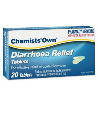 Chemist Own Diarrhoea Relief 20 Tablets