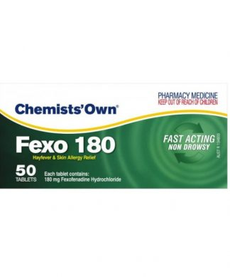 Chemist Own Fexo Tablet 180Mg 50 Pack