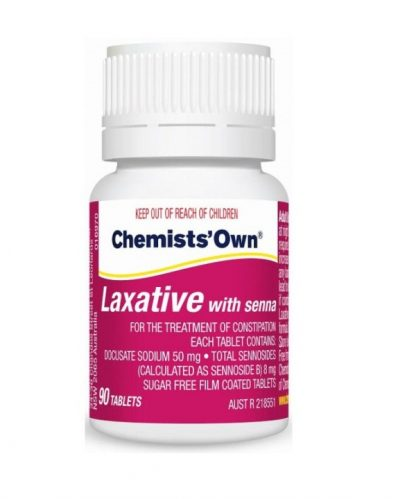 Chemist Own Laxative With Senna Tablet 90 Pack