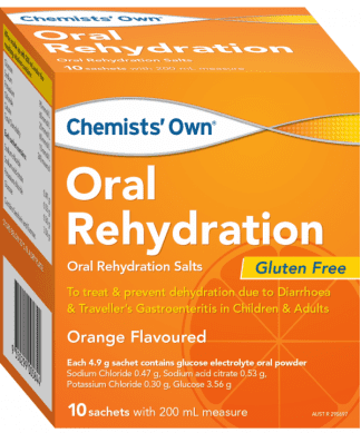 Chemist Own Oral Rehydration Orange 10 Sachets