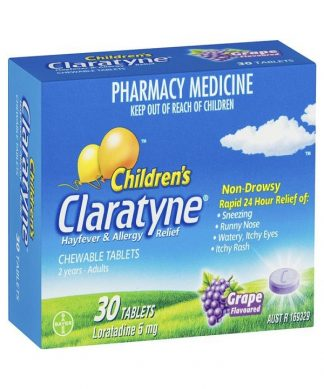 Claratyne Chewable Tablet 30 Pack