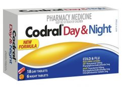 Codral Phenylephrine Day & Night Tablet 24 Pack