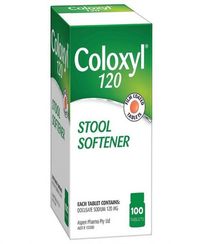 Coloxyl Tablet 120Mg 100 Pack