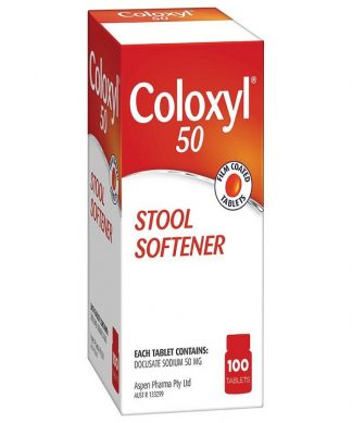 Coloxyl Tablet 50Mg 100 Tablets