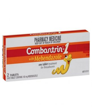 Combantrin 1 100Mg 2 Tablets