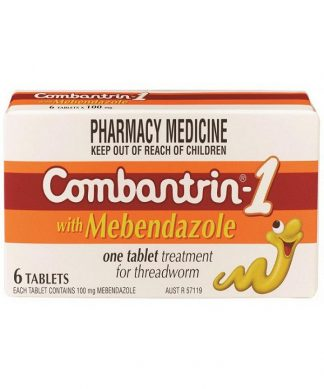 Combantrin 1 Tablet 100Mg 6 Pack