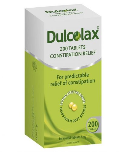 Dulcolax Tablet 5Mg 200 Pack