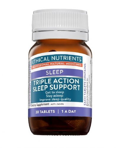 Ethical Nutrients Triple Action Sleep Support 30 Capsules