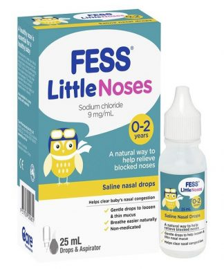 Fess Little Noses Drops 25Ml + Aspirator