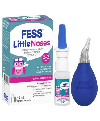 Fess Little Noses Nasal Spray 15Ml+ Aspirator