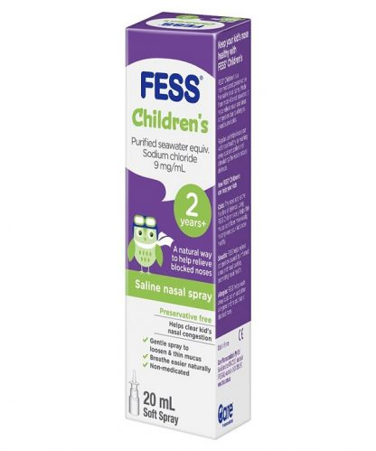 Fess Nasal Saline Spray Child 20ML