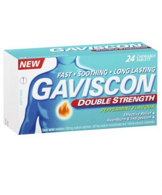 Gaviscon Tablet 24 Peppermint