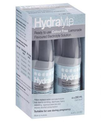 Hydralyte 4X250Ml Lemonade