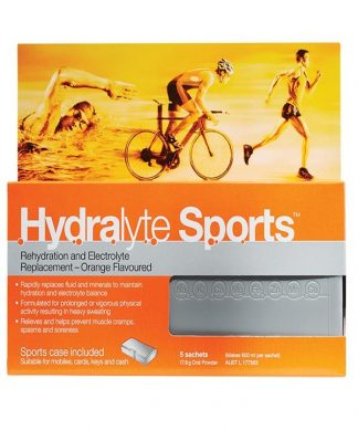 Hydralyte Sport Orange Sachet 5 Pack