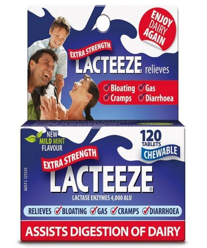 Lacteeze Extra Strength Tablet 120 Pack