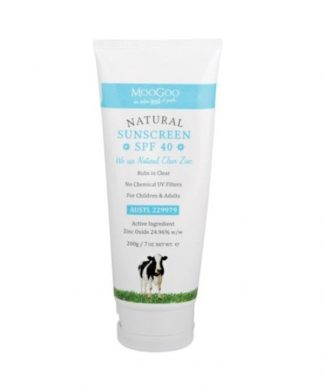 Moo Goo Natural Sunscreen 200g