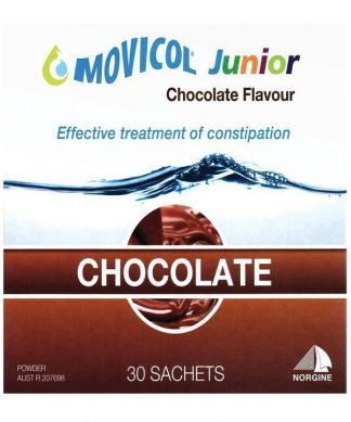 Movicol Junior 6.9G Chocolate 30 Pack