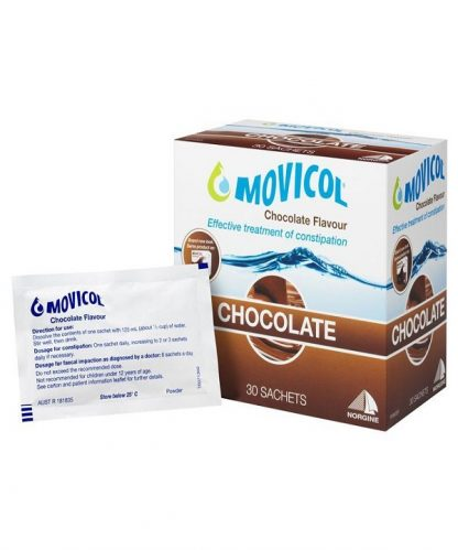 Movicol Powder Sachet 13.9gx30 Chocolate