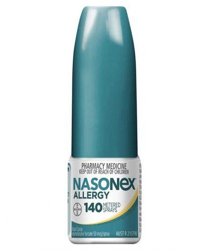 Nasonex Allergy Spray 2X140 Dose