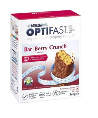 Optifast Vlcd Berry Bar 6 Pack
