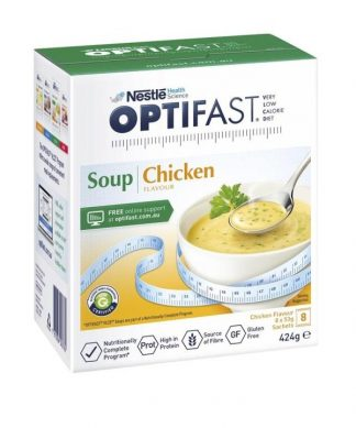 Optifast Vlcd Chicken Soup 53g 8 Sachets