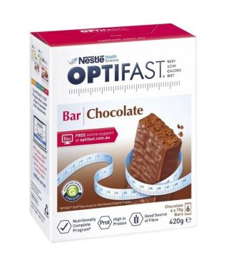 Optifast Vlcd Chocolate Bar 6 Pack