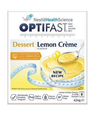 Optifast Vlcd Dessert Lemon Cream 53G 8 Sachets