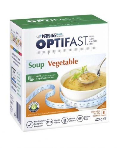 Optifast Vlcd Soup Vegetable 53g 8 Sachets