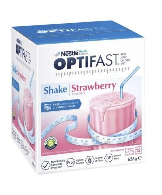 Optifast Vlcd Strawberry 54g 12 Sachets