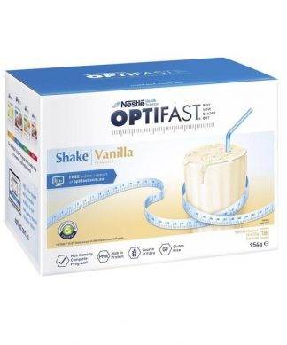 Optifast Vlcd Vanilla 54g 18 Sachets