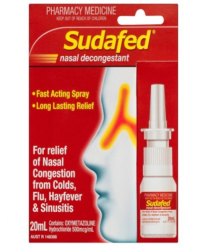 Sudafed Nasal Spray Pump 20ML